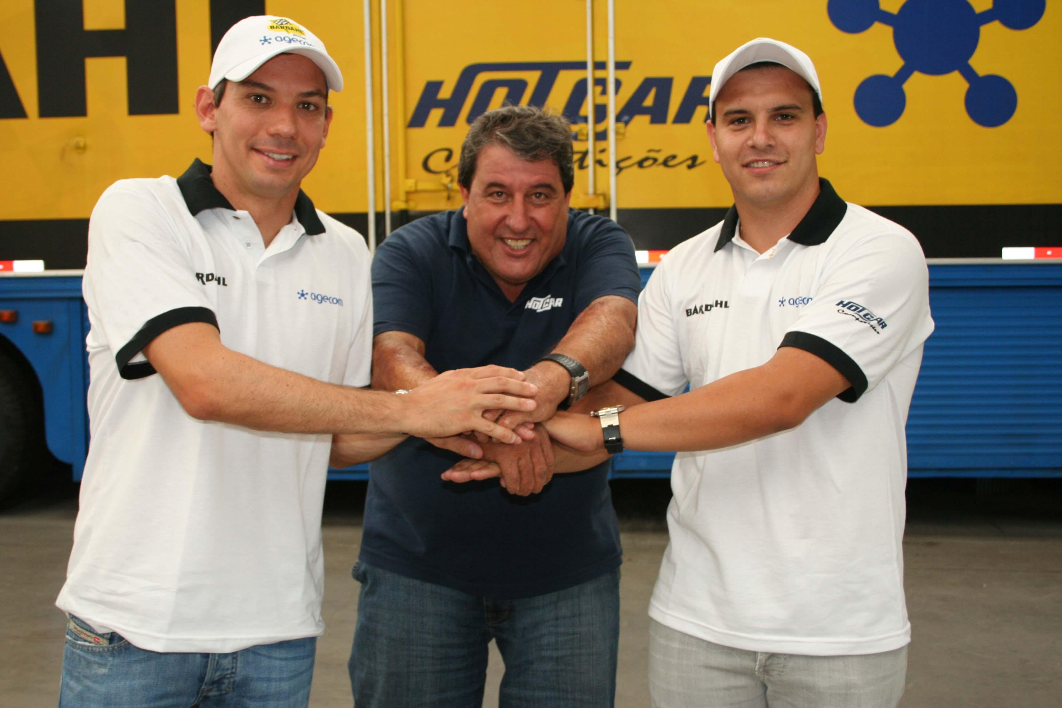Giuliano Losacco, Amadeu Rodrigues e Eduardo Leite (esq. para a dir.)
