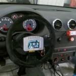 Painel digital feito no Brasil é semelhante ao do Audi da 24 Horas de Le Mans