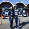 Cristina Rosito e Danilo Dirani, pilotos da Ford Racing Trucks na temporada 2011