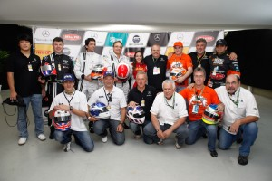 Pilotos do Mercedes-Benz Grand Challenge