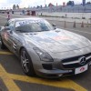 Safety car Mercedes SLR