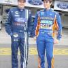 Toso (E) e Fogaça, os novos pilotos da equipe ProGP