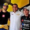 Thiago Camilo, Carlos Alves e Galid Osman
