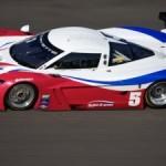 O Corvette de número 5 pilotado por Fittipaldi.