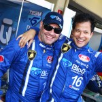 Marcelo Hahn e Allam Khodair (Foto: Luca Bassani)
