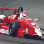 Nonô Figueiredo em Monza/1993 (Foto: Arquivo Pessoal)