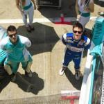 Diego Nunes e Gabriel Casagrande (Foto: Vanderley Soares)