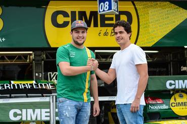 Marcos Gomes e Felipe Fraga (Foto: José Mario Dias)