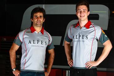 Sergio Jimenez e Gabriel Casagrande (Foto: Vanderley Soares/MS2)