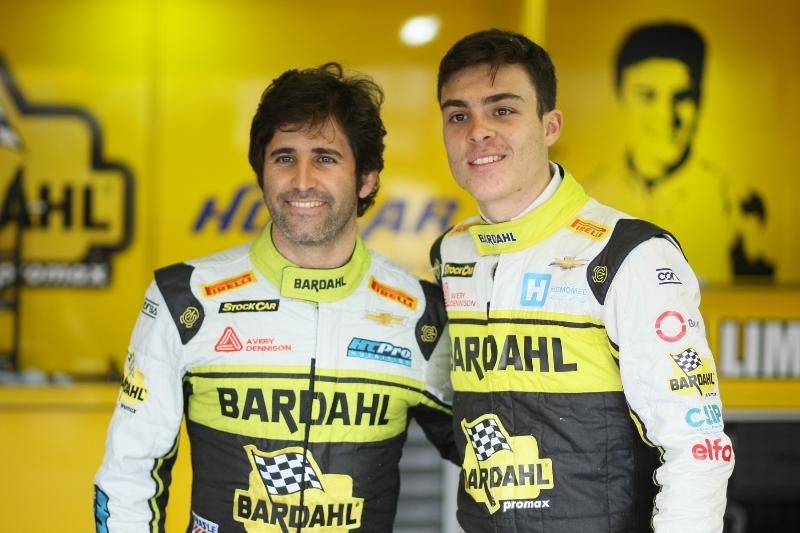 Sérgio Jimenez (à esquerda) e Guga Lima (Vanderley Soares)