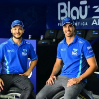 Allam Khodair e Cesar Ramos (Foto? Fernanda Freixosa)