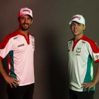 Lucas di Grassi e Bruno Baptista (Foto: Divulgação)