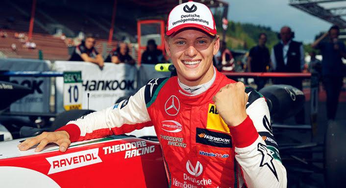 Após vencer 7 das últimas 12 corridas da F-3 Mick Schumacher é o novo futuro astro da F-1 (Prema)