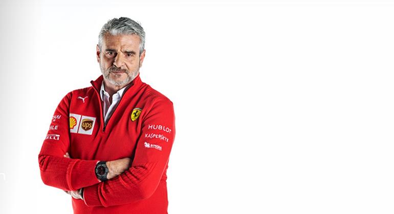 Maurizio Arrivabene além de dirigir a Ferrari também atua na direçåo da Juventus (Ferrari)