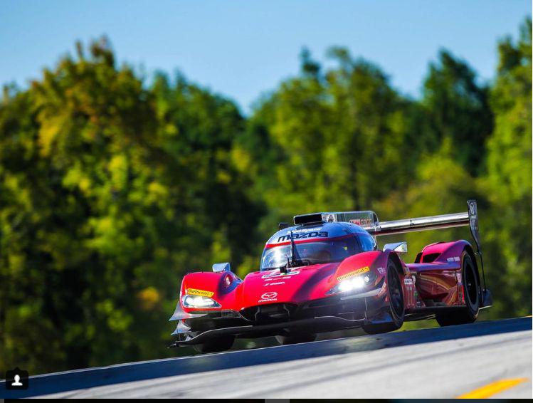 O Joest Mazda de Di Grassi/Jarvis/Nuñez, segundo colocado na prova (Divulgação)