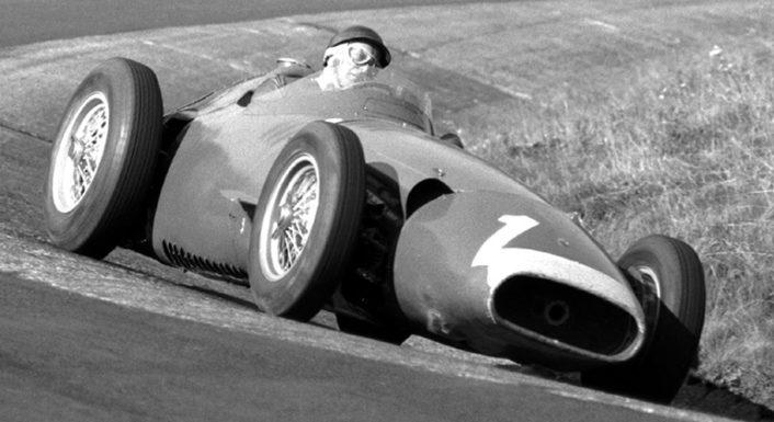 A vitória no GP da Alemanha de 1957 é considerada a melhor atuação de Fangio na F-1 (Museo Fangio)
