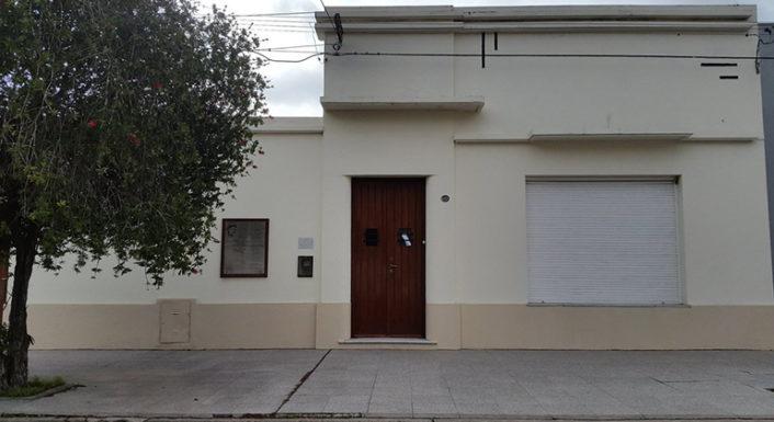 Estado atual da casa da família Fangio, na rua 13, em Balcarce (Museo Fangio)
