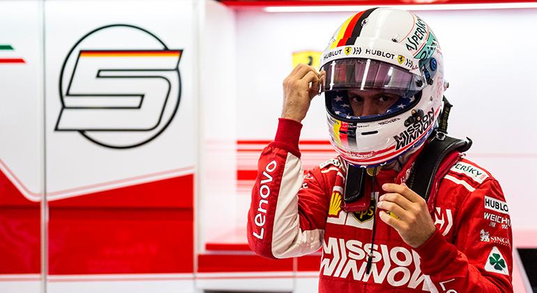 Sebastian Vettel, tetra-campeão mundial ainda não conseguiu repetir o feito de Michael Schumacher (Ferrari)