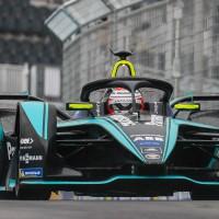 Disputa entre Nelsinho Piquet (foto) e Lucas DI Grassi só foi definida na última volta
