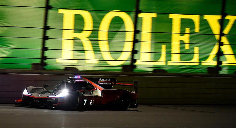 Prova de Daytona está intrinsecamente ligada à marca de relógios Rolex