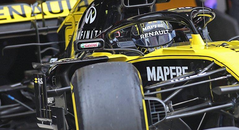 Nico Hulkenberg: o mais rápido da semana passada ainda não subiu ao pódio (Renault)