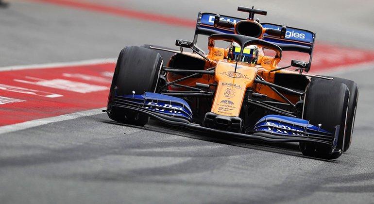 Lando Norris foi o melhor piloto da McLaren, ainda em fase de reorganização na F-1 (McLaren)