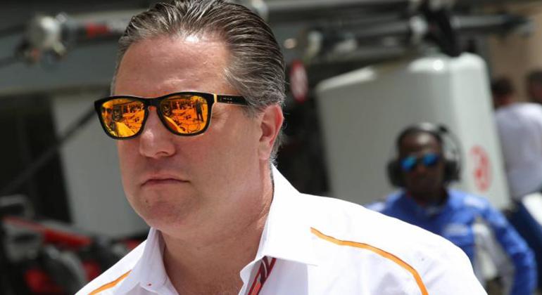 Zak Brown ameaça tirar a McLaren da F-1 se não conseguir o que acha justo (McLaren)
