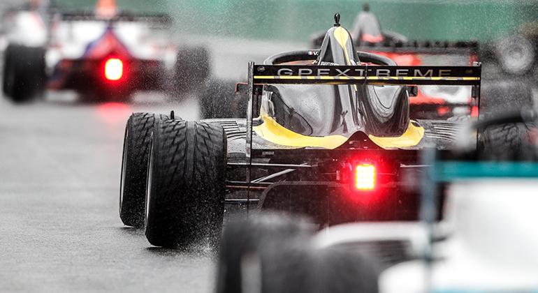 Collet foi sétimo na segunda prova sob chuva, em Monza (Renault Sport)