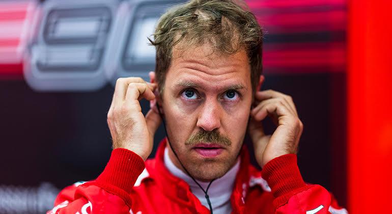 Sebastian Vettel é o nome na berlinda: tetra campeão deve um título à Scuderia (Ferrari)