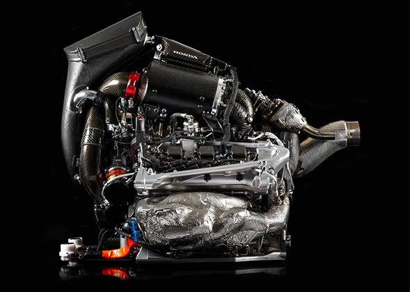 A unidade de potência de F-1 atual: motor de combustão interna e recuperadores de energia (Honda)