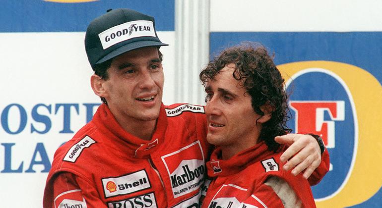 Na McLaren dos bons tempos, Ayrton Senna e Alain Prost venceram 15 das 16 etapas de 1988 (Arquivo)