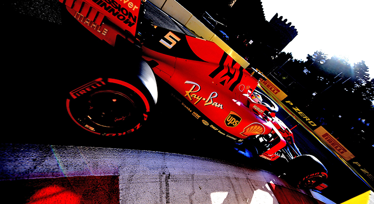 Os resultados de Sebastian Vettel em 2019 ainda não decolaram como esperam ostifosi(Ferrari)