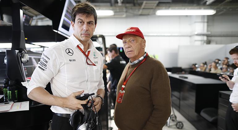 Seu último trabalho foi construir a supremacia da Mercedes na F-1 ao lado de Toto Wolff (Mercedes)