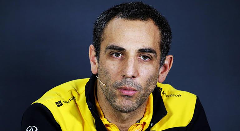 """Cyril Abiteboul: """"Até agora tivemos um início de campeonato bem duro"""" (Renault)"""