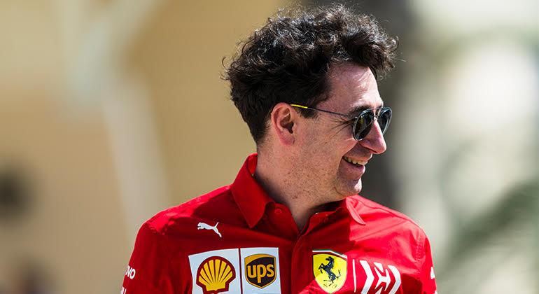 Mattia Binotto anuncia novo motor e novo lubrificante para o GP da Espanha(Ferrari)