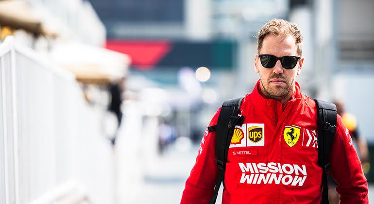 """Sebastian Vettel: """"Conheço Barcelona como a palma da minha mão""""(Ferrari)"""