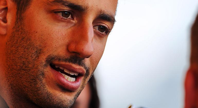 Daniel Ricciardo: ex-empresário cobra indenização de R$ 48 milhões (Renault)