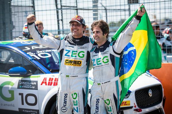 Cacá Bueno e Sérgio Jimenez (Foto: José Mário Dias)