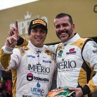 Pedro Queirolo e David Muffato (Foto: Bruno Terena)