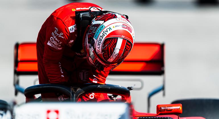 Charles Leclerc já conheceu muitos dissabores em seu primeiro ano em uma equipe grande (Ferrari)