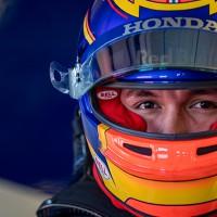 Albon agora vê o mundo por outra janela: no GP da Bélgica estreia na equipe principal da Red Bull (Getty Images)