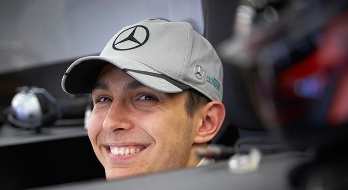Estebán Ocón é o protegido da vez de Toto Wolff e pode ser companheiro de Hamilton em 2020 (Mercedes)