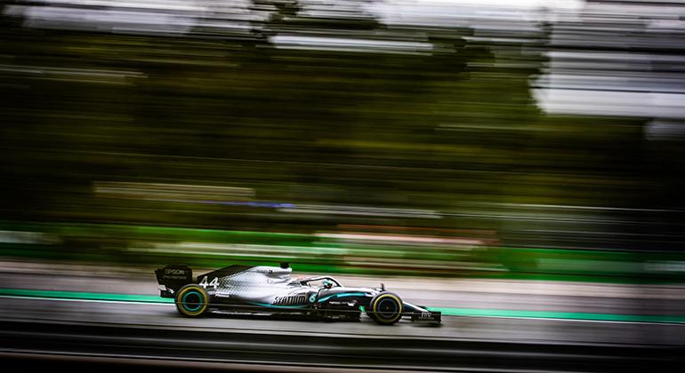 Lewis Hamilton, vencedor em 2018, segue folgado na liderança do campeonato (Mercedes)