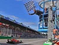 Leclerc vitoria Monza 2019