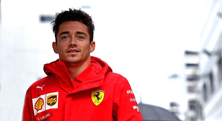 Em sua segunda temporada na F-1 Charles Leclerc faz poles, vence e aprende cada vez mais (Ferrari)
