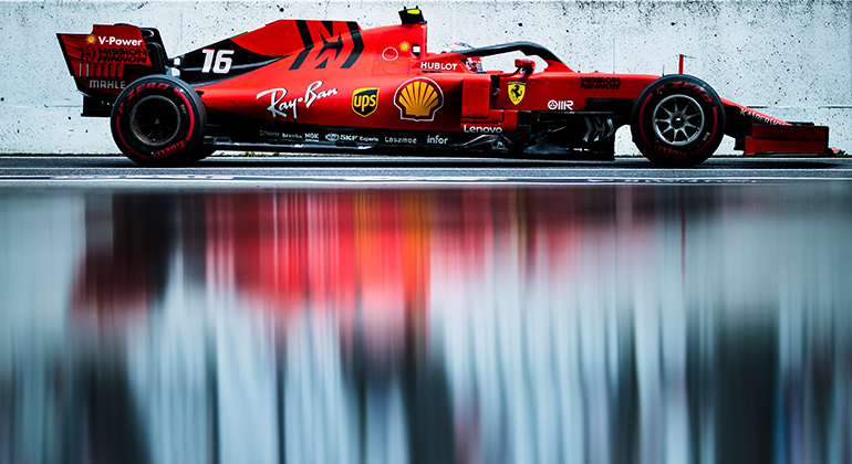 Charles Leclerc teve atuação nebulosa, prova que ainda está amadurecendo (Ferrari)
