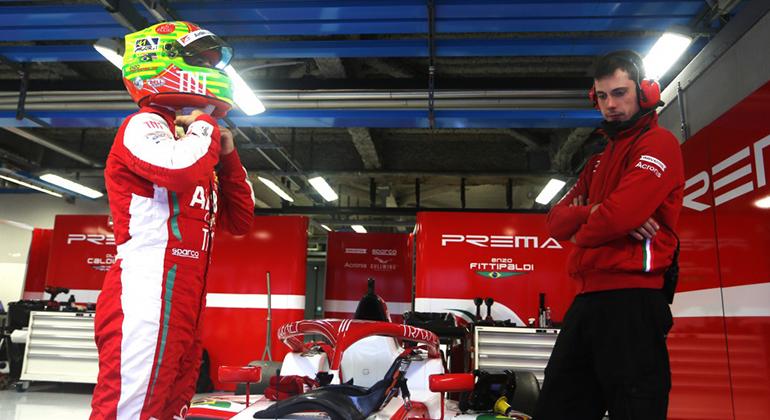 Enzo Fittipaldi pretende disputar a F-3 FIA em 2020. Categoria tem etapas preliminares aos GPs de F-1 (Prema)