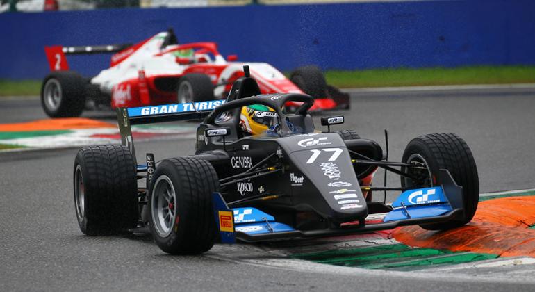 Igor Fraga, consagrado no eGames, venceu duas provas em Monza (Divulgação)