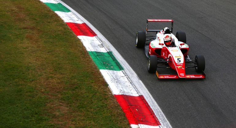 Gianluca Petecov: vice- campeão italiano e quinto colocado no certame alemão da F-4 (Prema)