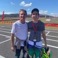 Felipe Giaffone e o filho Nicolas (Foto: Divulgação/ RF1)